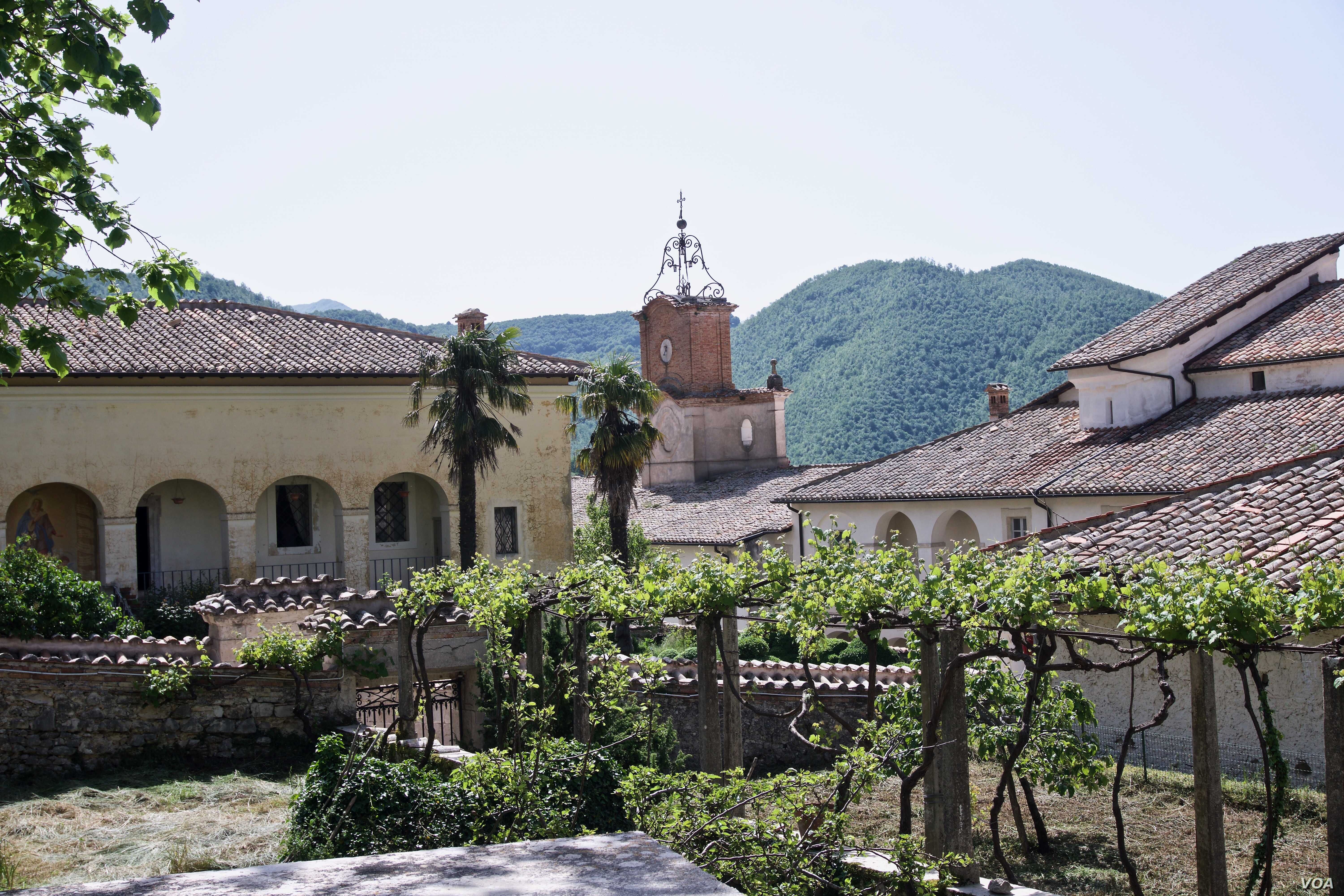 The 13th century monastery was famous for its pharmacy, and was where the the first Sambuca liquor was produced by monks.