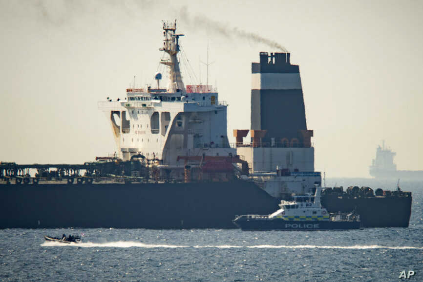 Gibraltar Seizes Iranian Oil Tanker | Voice of America - English