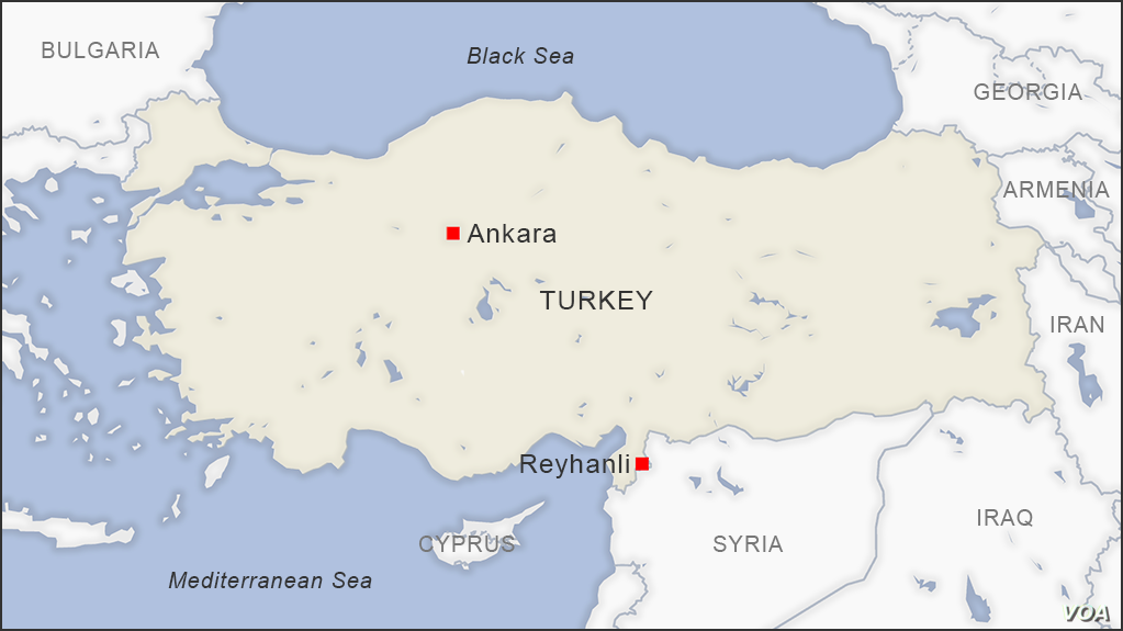 Turkey: 2 Killed in Explosion Near Border with Syria | Voice ...