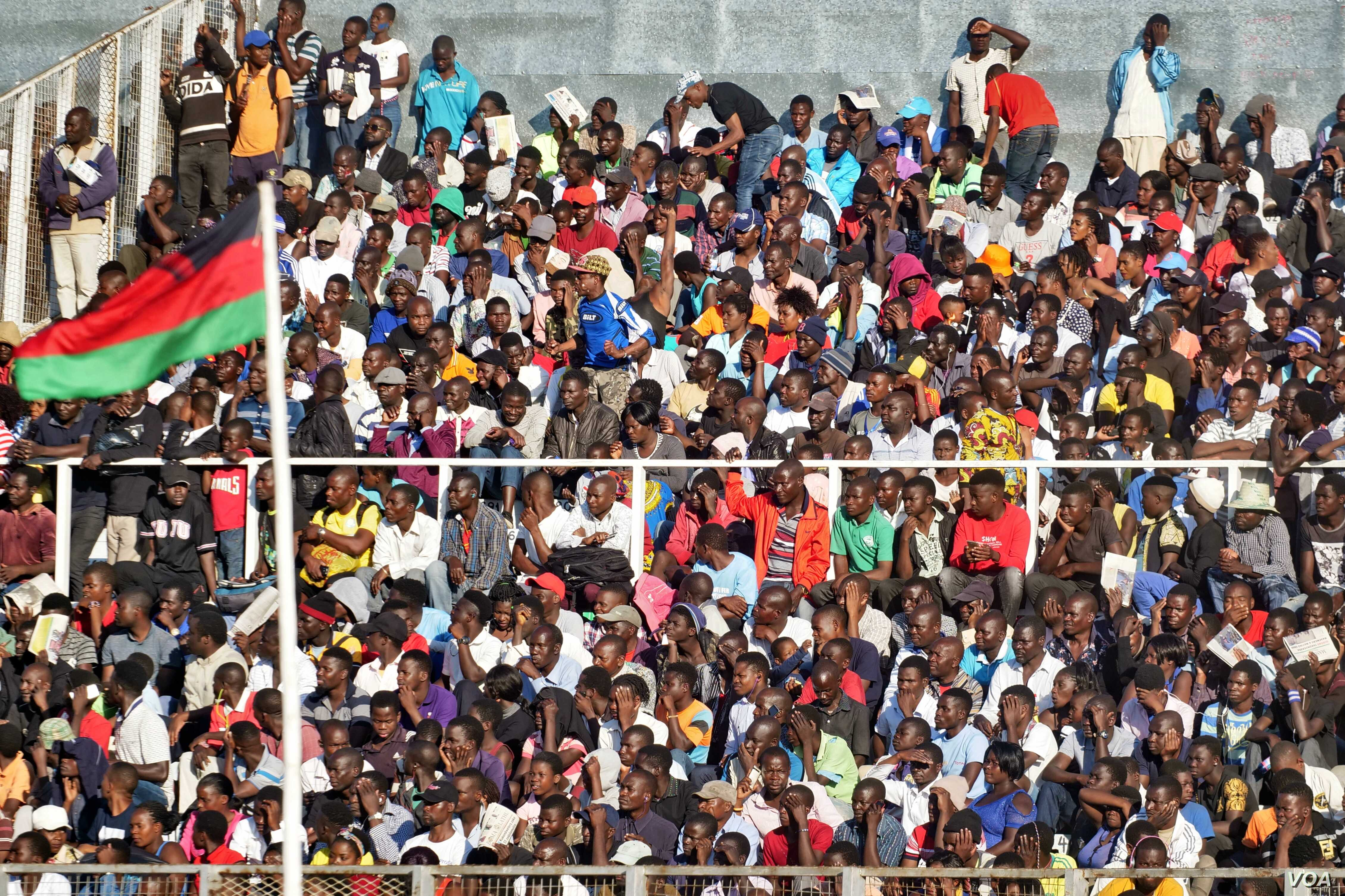 Thousands of Malawians attended the Independence Day Celebration at Kamuzu Stadium in Blantyre, July 6, 2019.