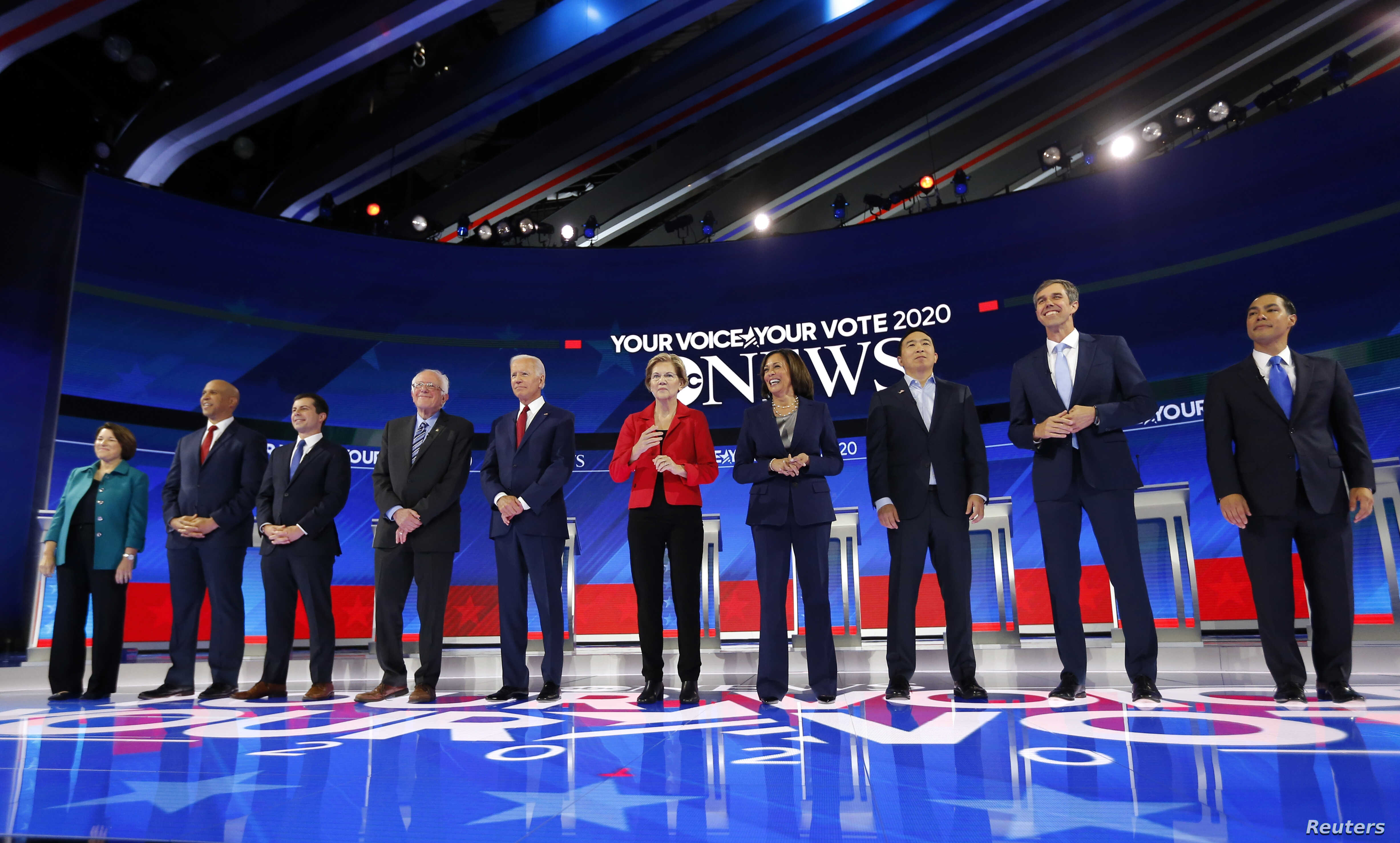 Us Current Events 2020.Key Takeaways From Democrats Third 2020 Debate Voice Of