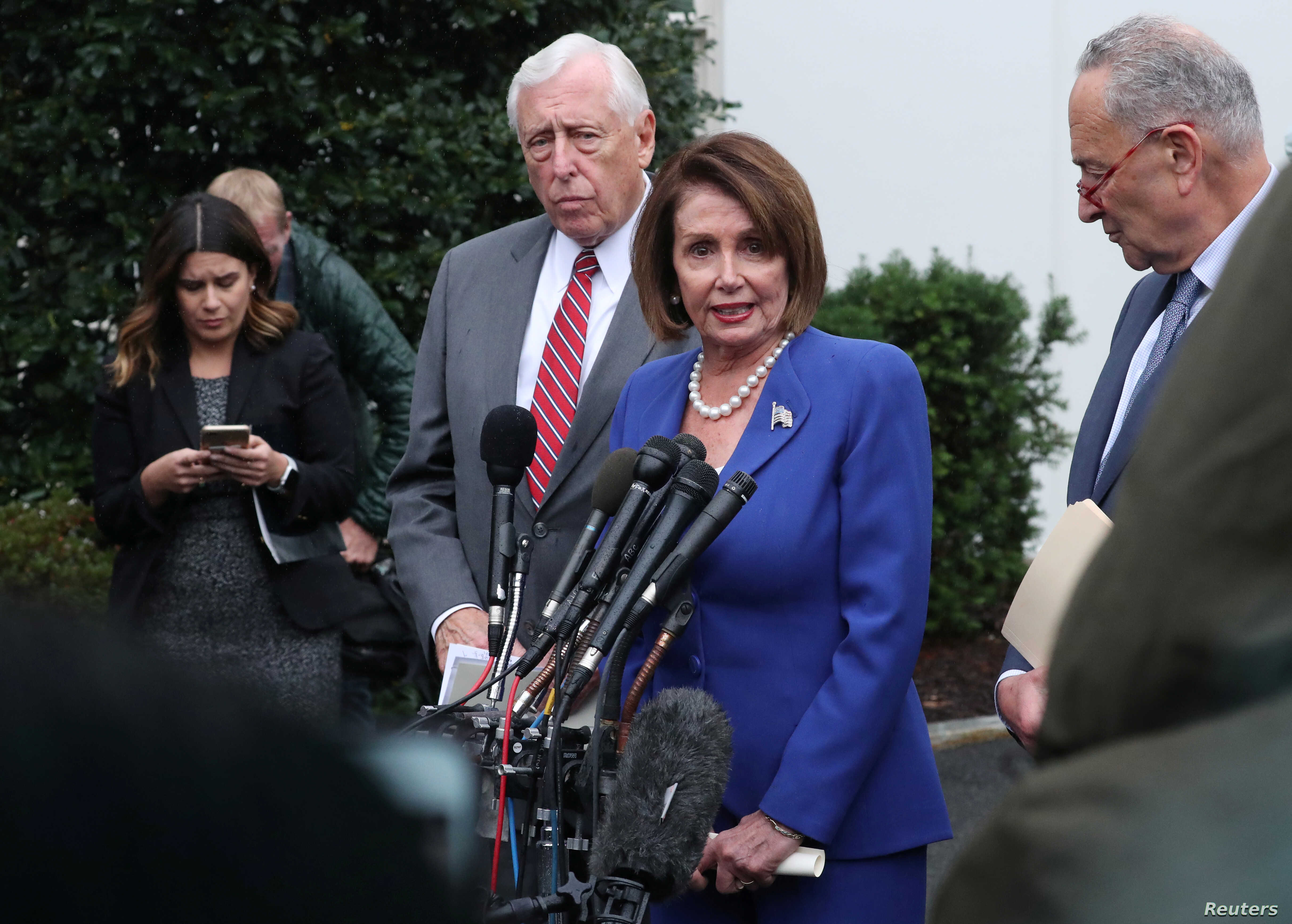 See You At The Polls Trump And Pelosi Have It Out Voice