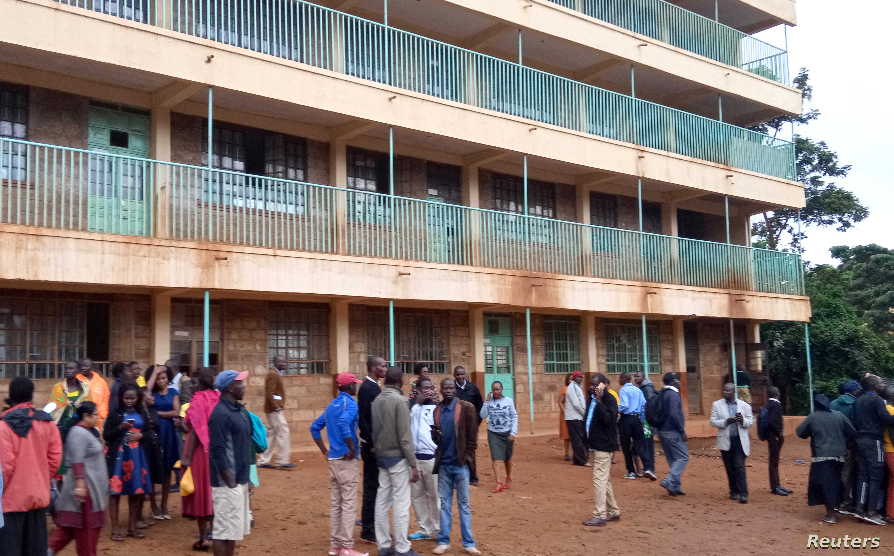 More than a dozen students killed in Kenya school stampede