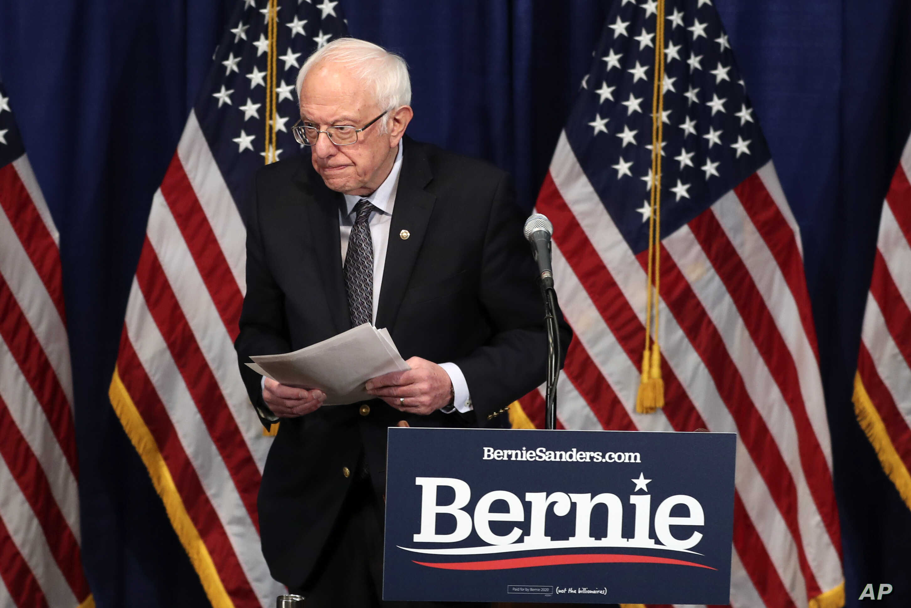 Sanders Wins North Dakota Caucus
