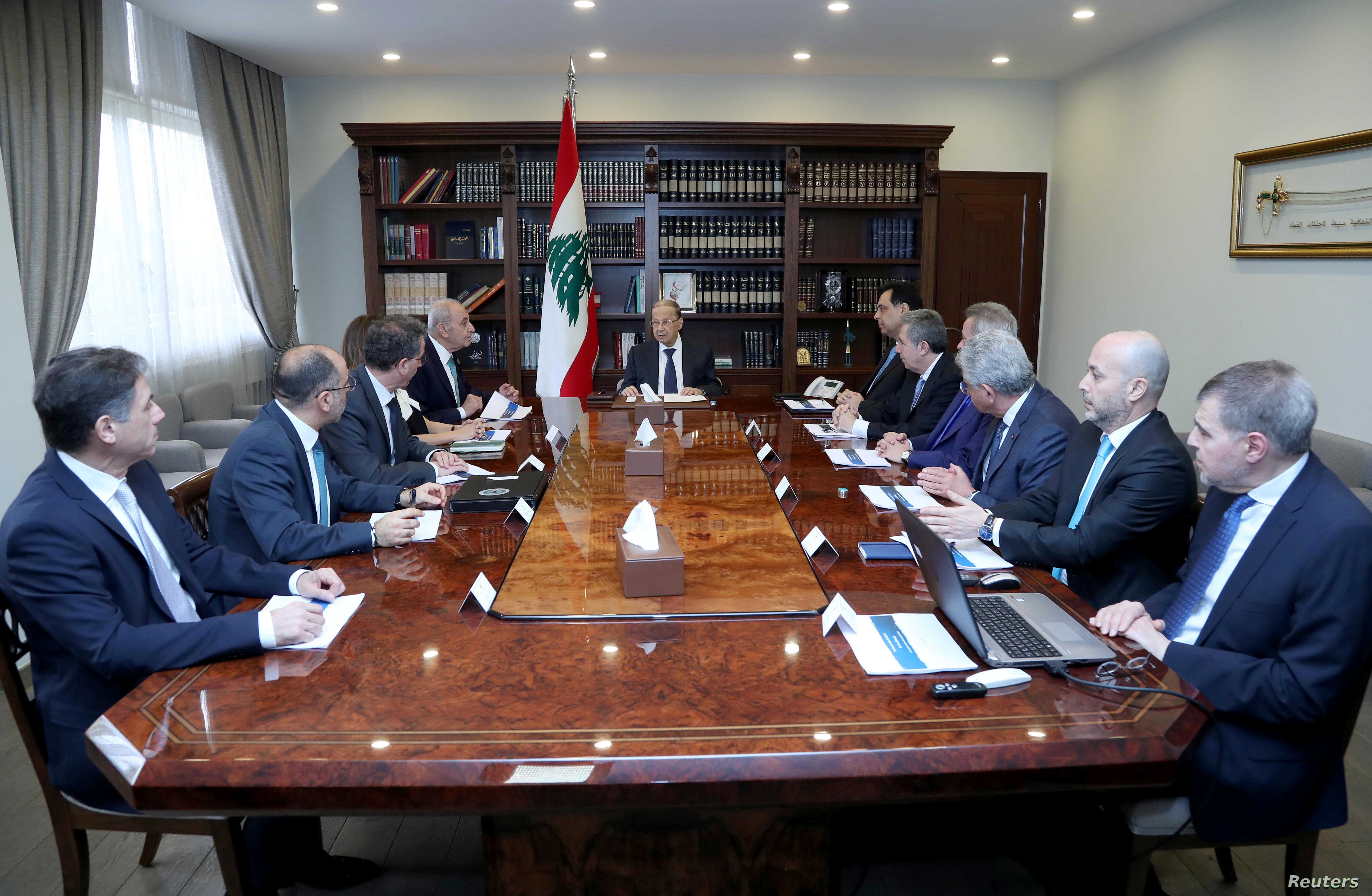 Lebanon's Government Votes to Default on $1.2B Debt