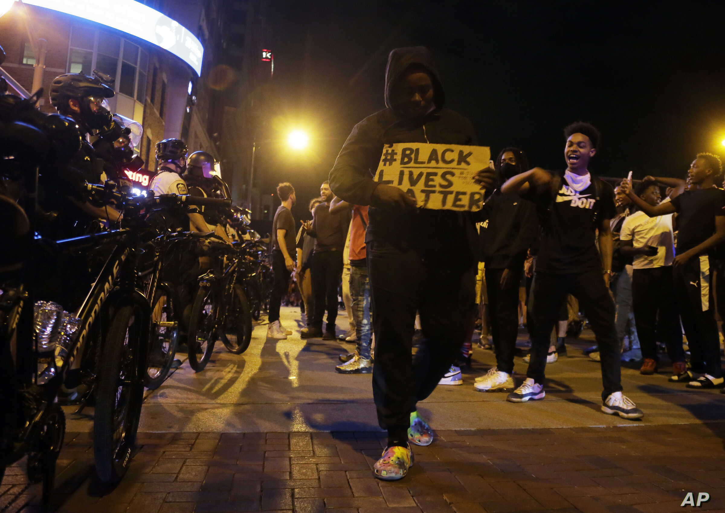 Columbus Protest Over George Floyd's Death Turns Violent