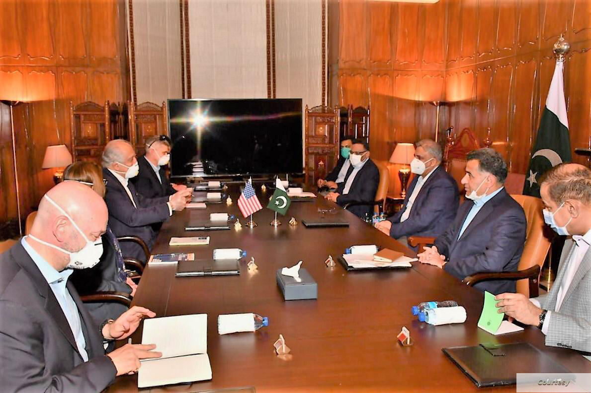Pakistan, US review Afghan peace process