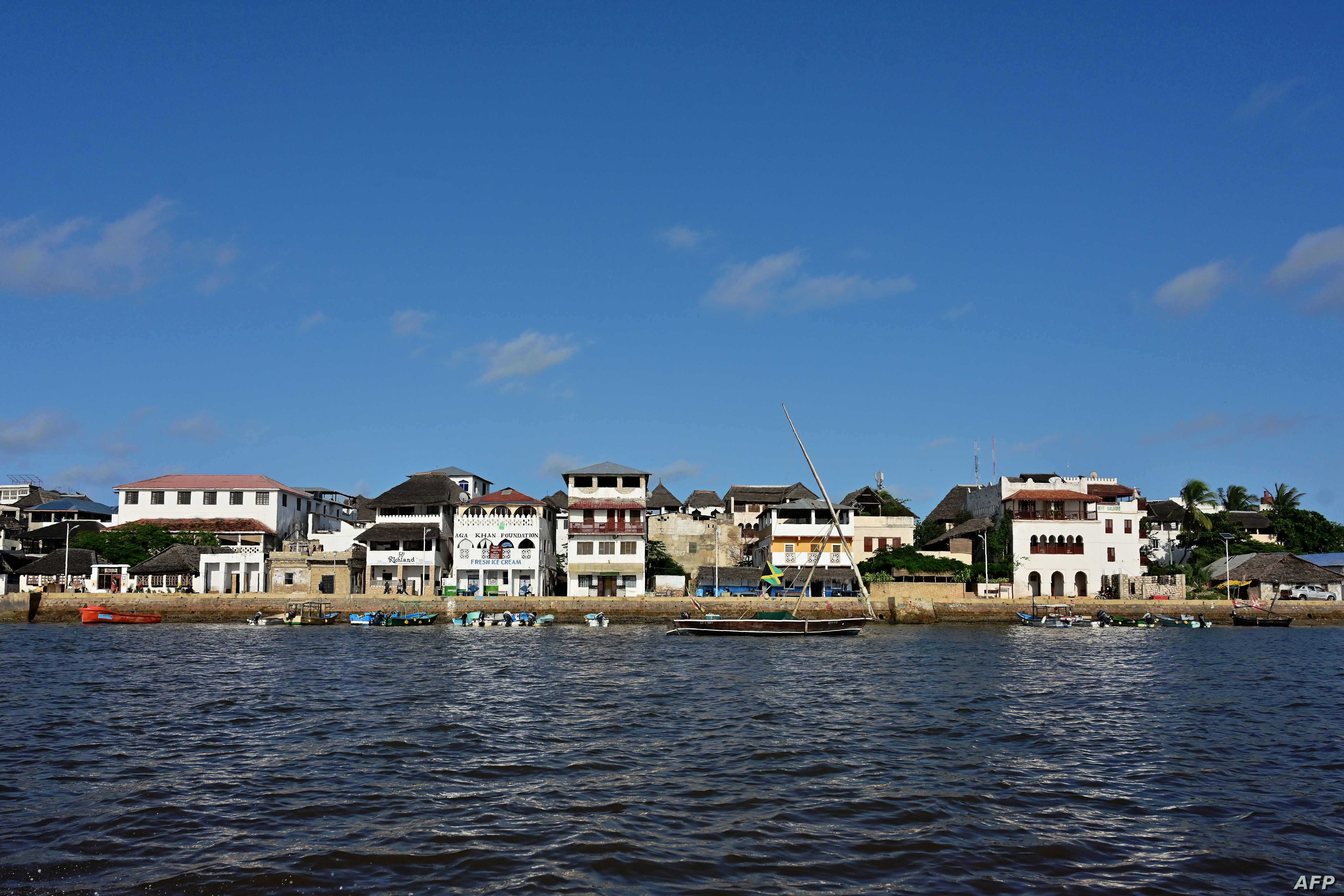 FILE - A general view of Lamu's resort town (June 19, 2019) where life has changed little over the centuries.