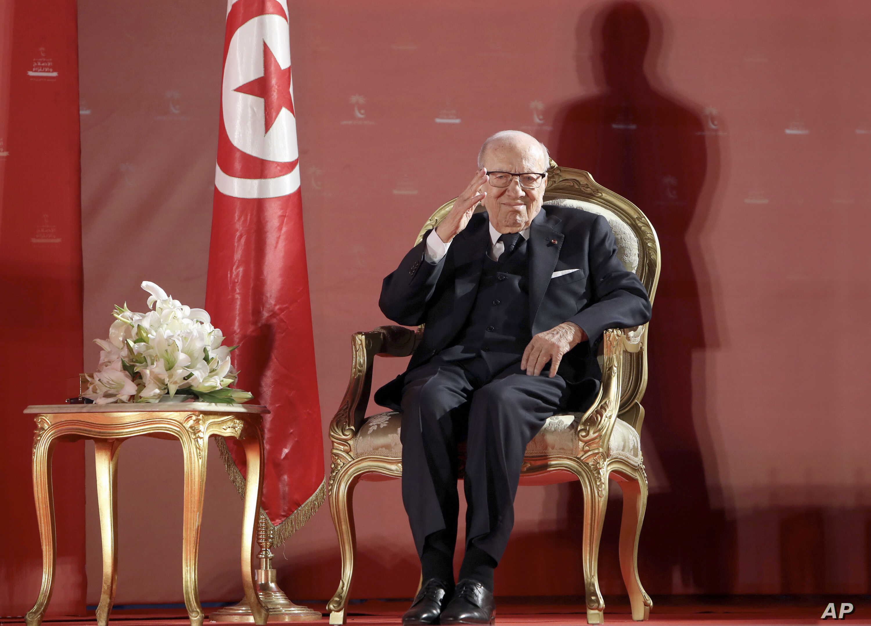 Tunisian president hospitalised 'in severe health crisis', Africa News & Top Stories