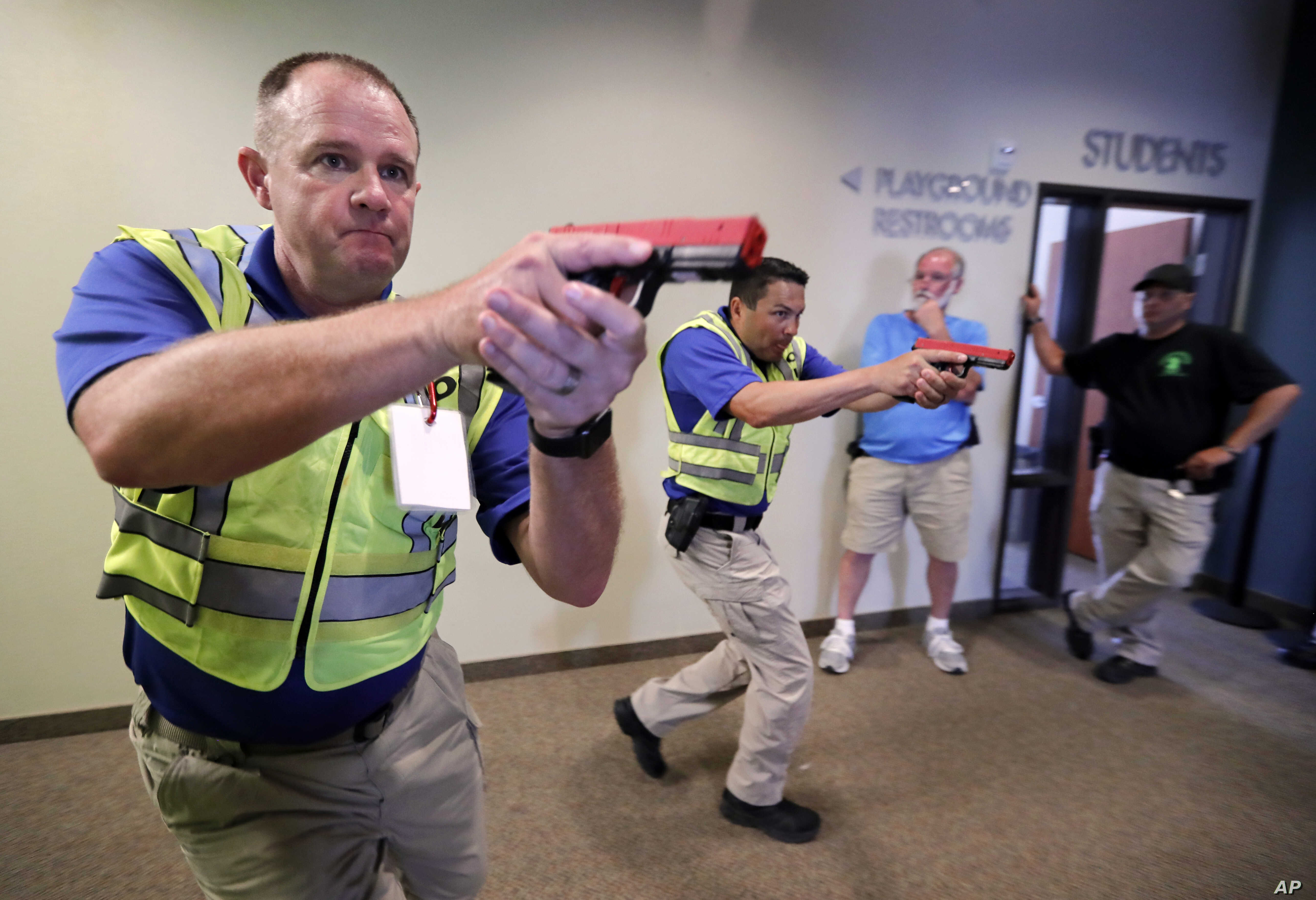 Churchgoers Armed, Trained in Wake of Mass Shootings | Voice