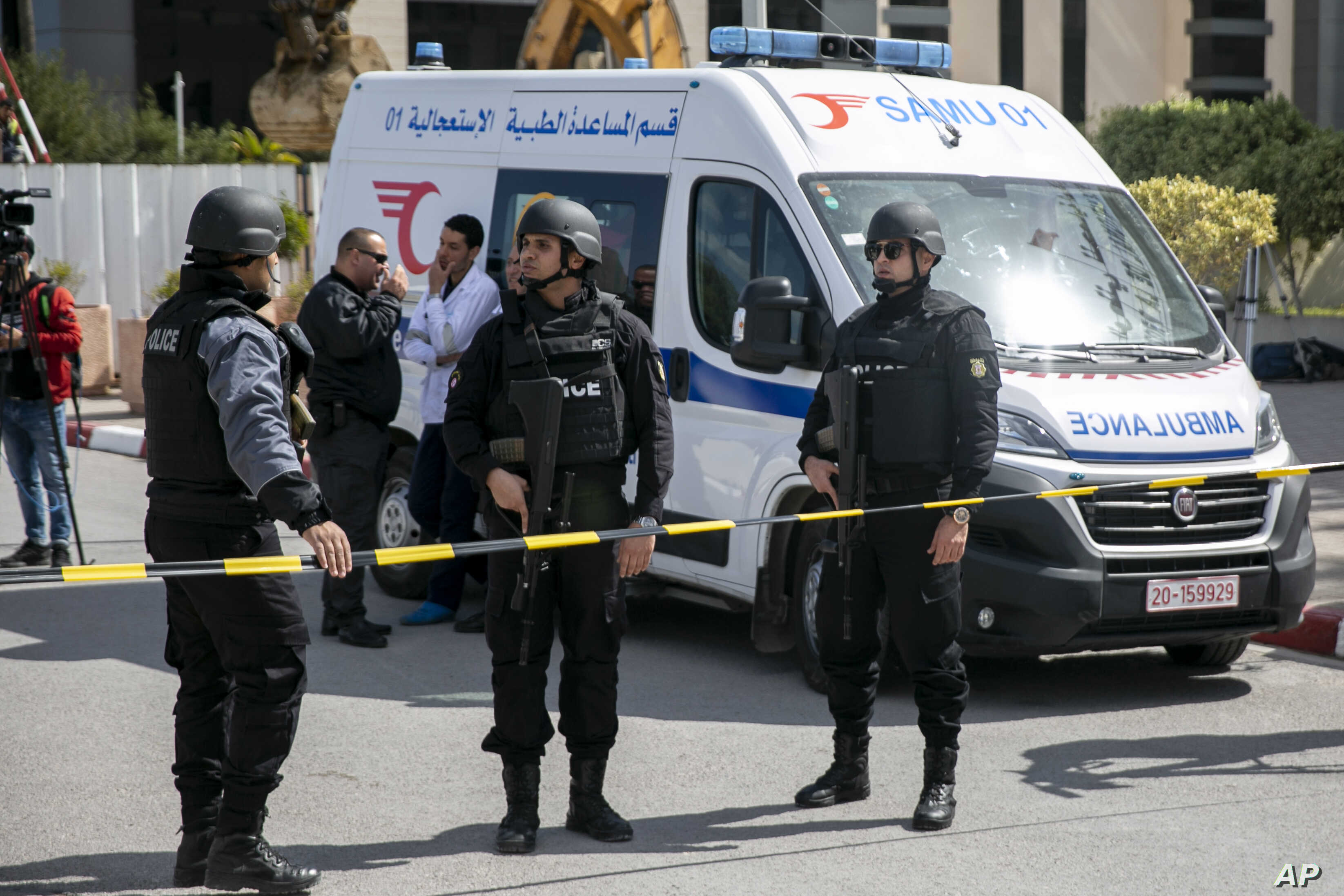 Explosion near US Embassy in Tunis prompts emergency response