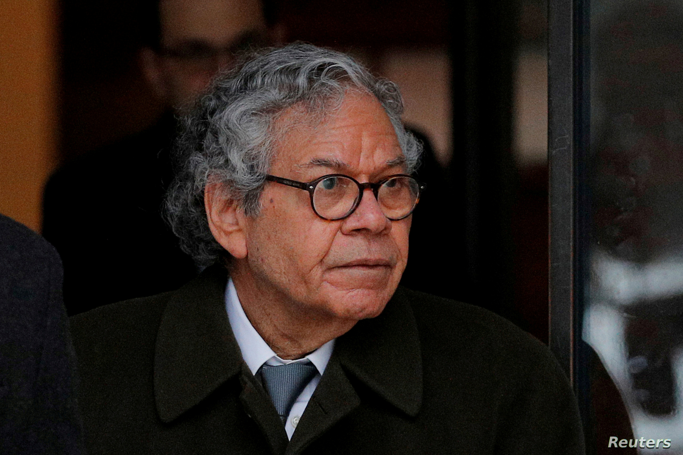 FILE PHOTO: John Kapoor the billionaire founder of Insys Therapeutics Inc., leaves the federal courthouse in Boston