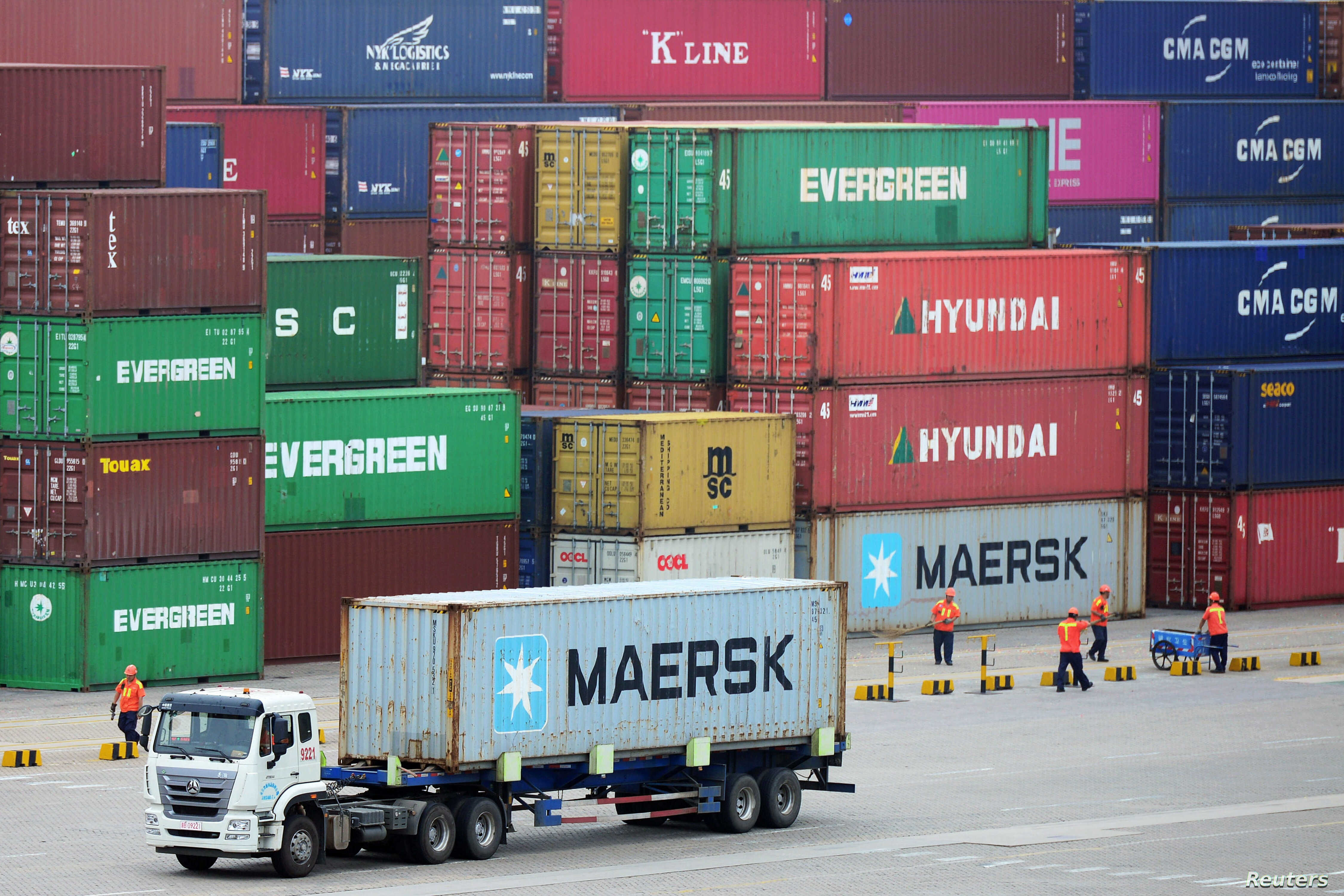 China's June Exports Fall After US Tariff Hike, Imports