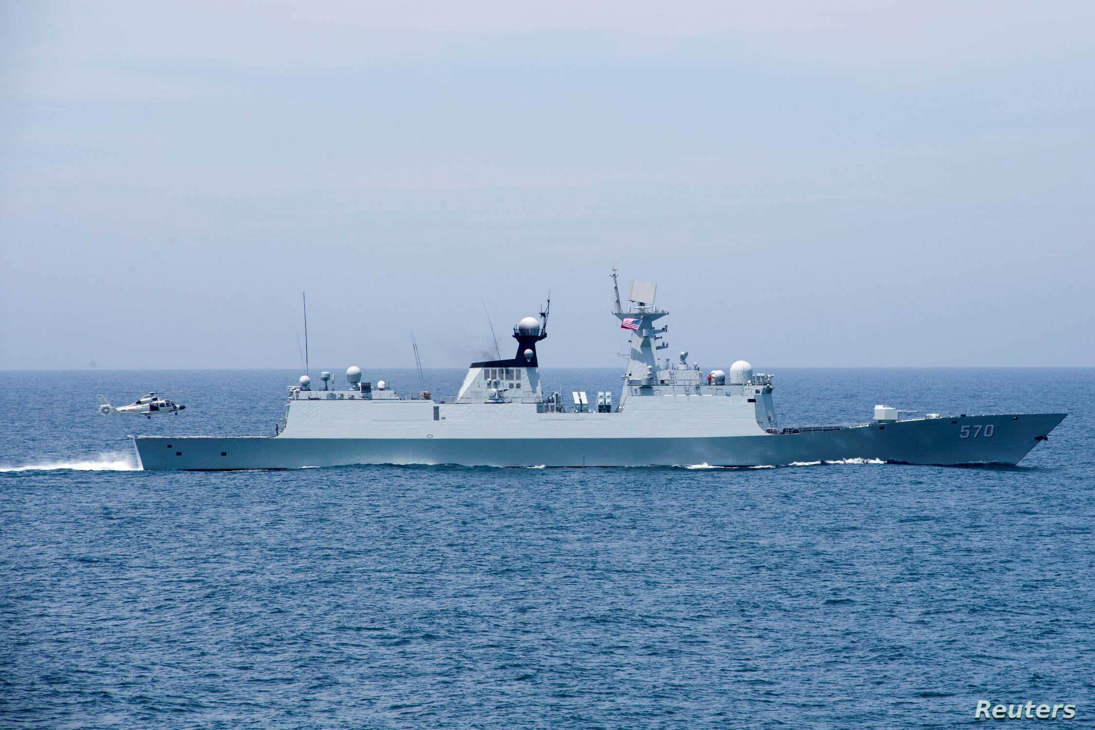 Australian frigate joins USA ships in S. China Sea amid rising tension