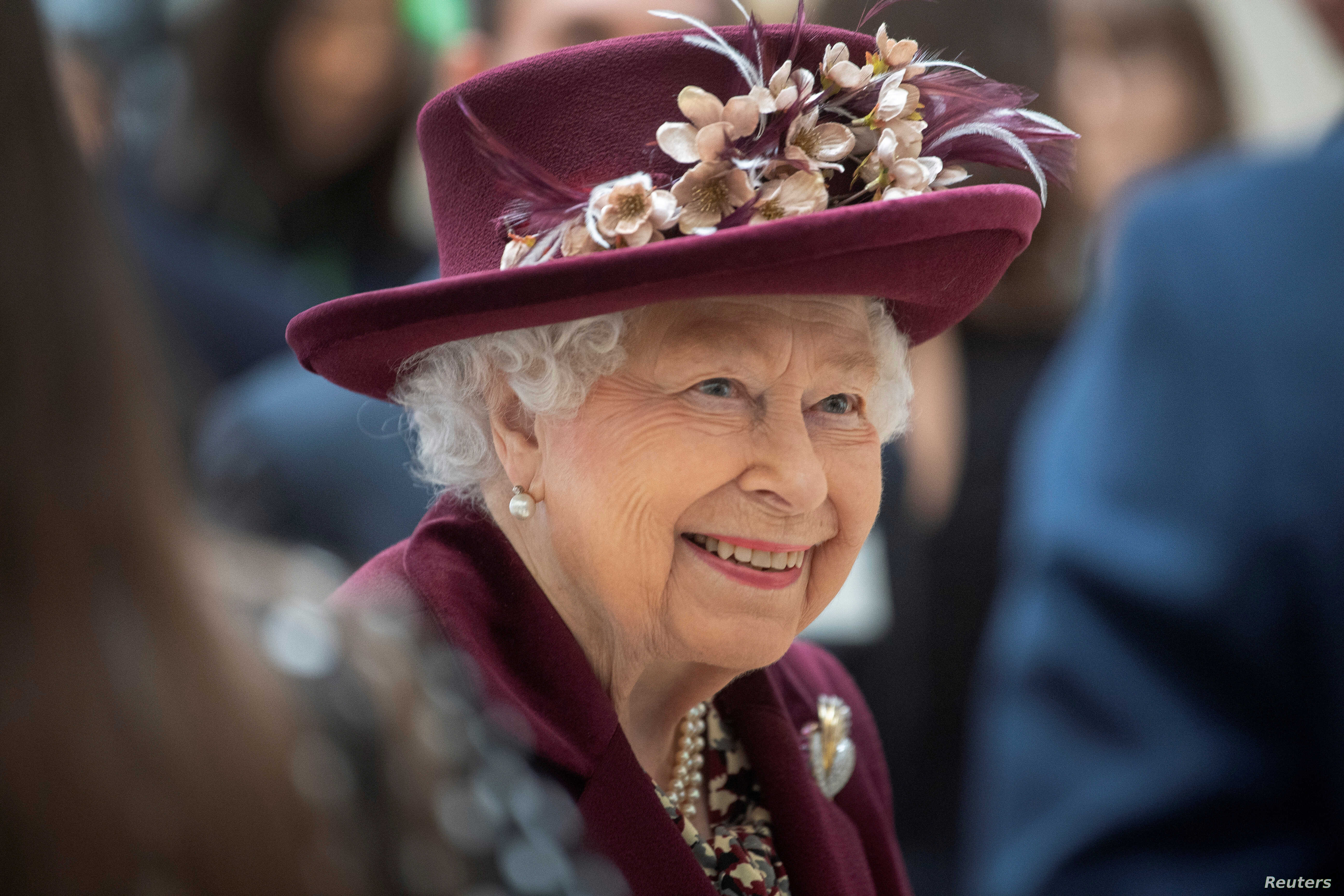Britains Queen Elizabeth To Make Rare Address To Nation Over