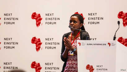 Dr. Rose Mutiso, a clean energy technologist, is the Next Forum Ambassador for her native Kenya. She says the forum is a wonderful way for African scientists to connect with each other and to the world.