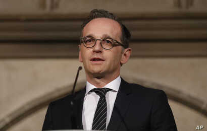 German Foreign Minister Heiko Maas. April 12, 2018