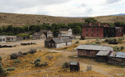 Founded in 1862, Bannack was once the capital of Montana. (Courtesy Geotab)