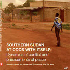 South Sudan Lacks Effective Peace, Justice and Development Efforts