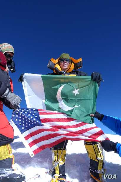 Vanessa O'Brien has become the first American woman to summit K2, the world's second highest mountain at 8,611 meters.