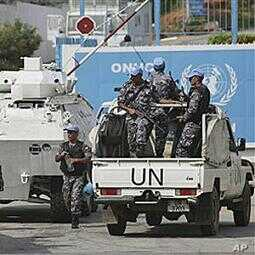 UN peacekeepers in Ivory Coast