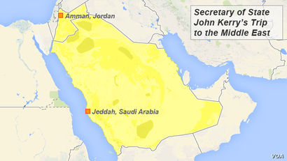 Secretary of State John Kerry's Trip to the Middle East