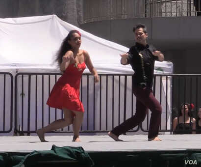 Makuakane's choreography to Dangerous is a mix of hula and Hollywood.