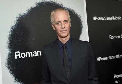 """FILE - Director Dan Gilroy attends a special screening of """"Roman J. Israel, Esq."""" at the Henry R. Luce Auditorium in New York, Nov. 20, 2017."""