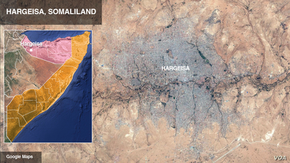 Hargeisa, in Somaliland