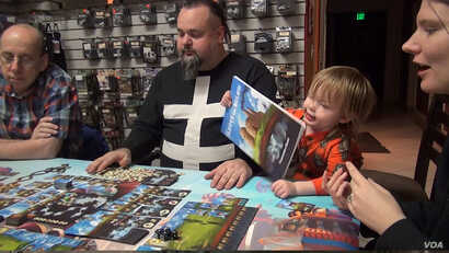 Karliquin's Game Knight in Boulder, Colorado, sponsors regular game nights, featuring board games, card games and role-playing games.