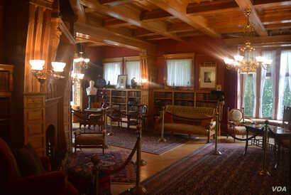 80% of the artifacts and items inside President James Abram Garfield's home are original.