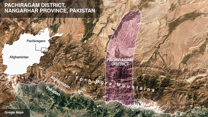 Pachiragam District, Nangarhar Province