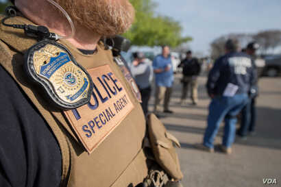 U.S. Immigration and Customs Enforcement's Homeland Security Investigations executed criminal search warrants at CVE Technology Group Inc. and four of CVE's staffing companies in Allen, Texas on April 3, 2019.