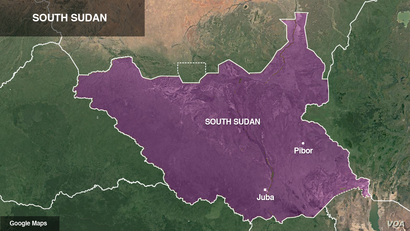 Juba and Pibor, South Sudan