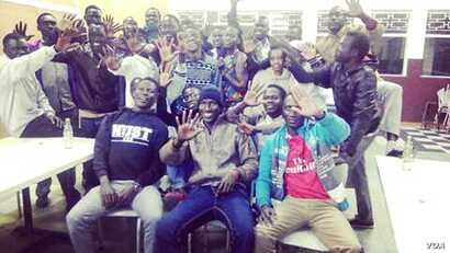 The students in Harare are among the more than 175 South Sudanese students spread across universities in Zimbabwe under a South Sudan-sponsored scholarship program. (Photo courtesy of South Sudanese students)