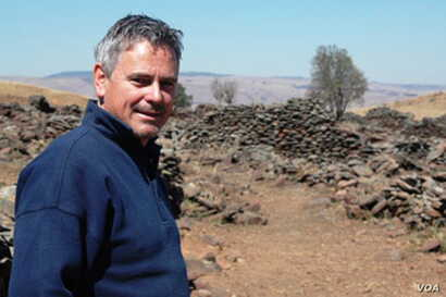 Michael Tellinger's liberation movement take political form in the Ubuntu Party. He is a recognized author of books on ancient southern African civilizations. (Courtesy Ubuntu Party)