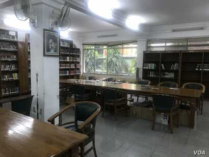 The library at the Islamic Cultural Center in South Jakarta, Indonesia.