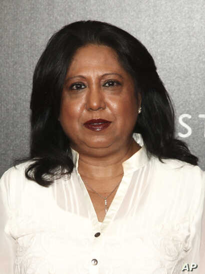 "Pramila Patten, who serves as the U.N. Secretary-General's Special Representative on Sexual Violence in Conflict, attends a movie screening of Netflix's ""First They Killed My Father,"" Sept. 14, 2017, in New York."