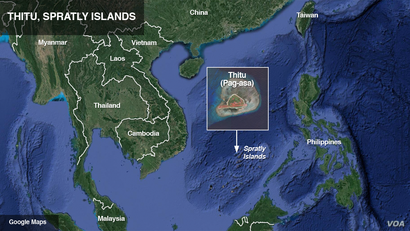 Thitu (Pag-asa in Tagalog), in the Spratly Islands