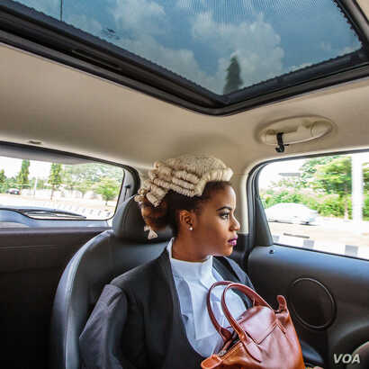 Tom Saater: On her way to join thousands of Nigerian law graduates called to bar in Abuja, Nigeria