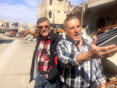 Locals say they are angered and hurt that an international victory has left them homeless, broke, grieving and without any assistance to rebuild on March 1, 2018 in Old Mosul, Iraq.