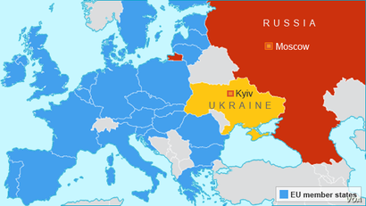 Ukraine, Russia, and the EU