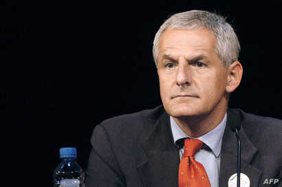 FILE - Dutchman and leading AIDS researcher Joep Lange during a conference in Paris, July 14, 2003.