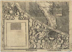 This is a corner of the document that some call America's birth certificate, which NIST helped to hermetically seal. It's a 1507 map, now at the Library of Congress, that showed the word America for the first time.