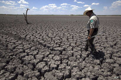 Texas Lingering Drought