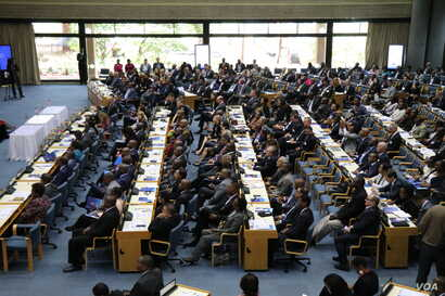AMCHAM economic summit drew more than 500 delegates to the United Nations campus in Nairobi, Kenya.