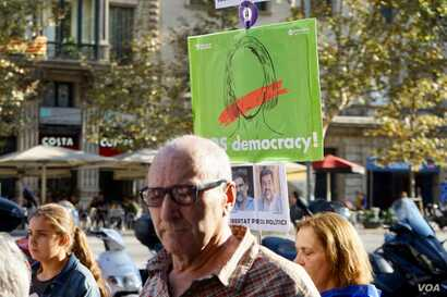 Catalan separatists and their supporters complain their democracy has been gagged, but less than half of the electorate turned out to vote in the Oct. 1 referendum.