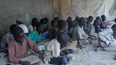 When their lessons are over, almajiri — students who attend a traditional Islamic school called a tsangaya — will walk the streets, begging for food.