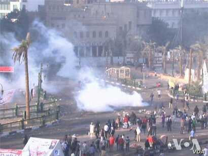Related video of anti-Morsi protests in Cairo