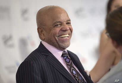 Berry Gordy attends the the 48th Annual Songwriters Hall of Fame Induction and Awards Gala at the New York Marriott Marquis Hotel, June 15, 2017, in New York.
